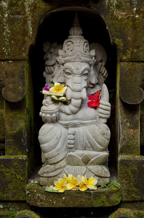Estátua de Ganesh em bali Indonésia imagens de stock royalty free