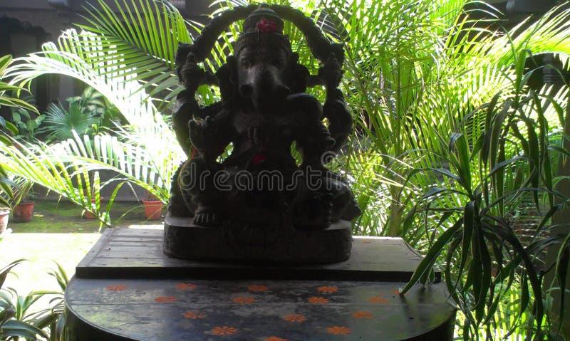 Estátua de Ganesha em Indore fotos de stock
