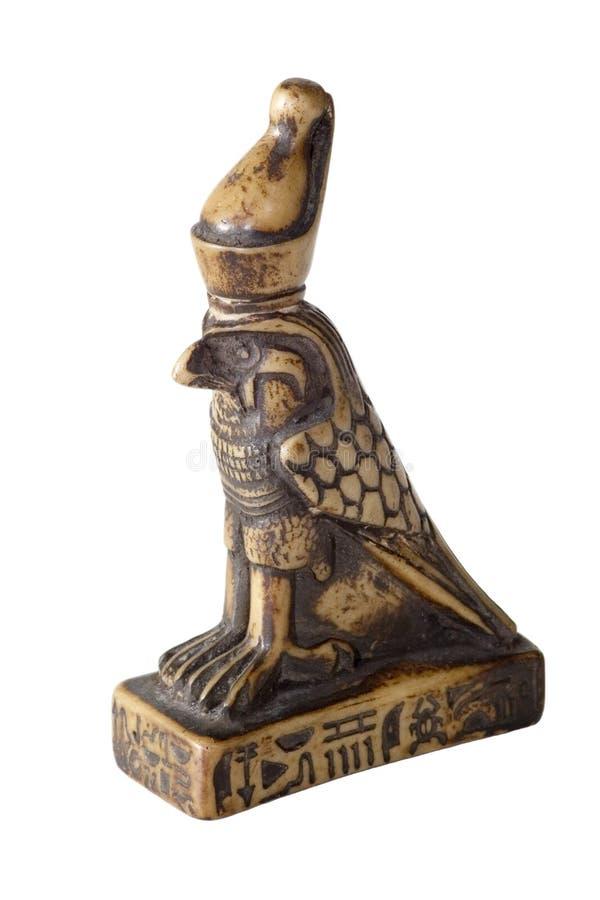 Estátua de Horus fotografia de stock royalty free