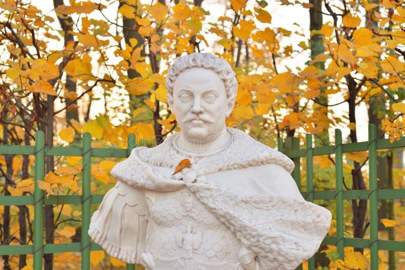 Estátua de Jan Sobieski fotos de stock
