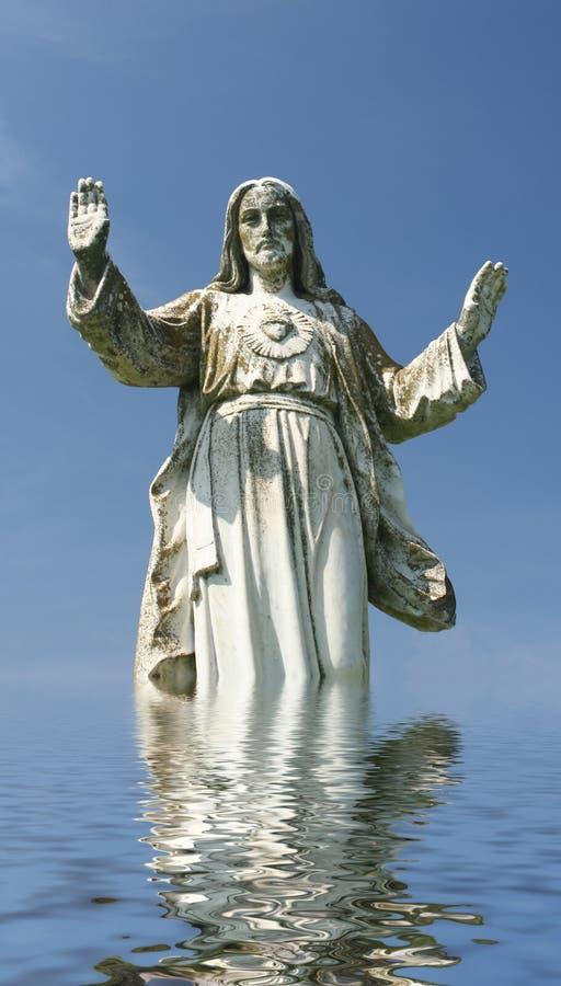 Estátua de Jesus foto de stock royalty free