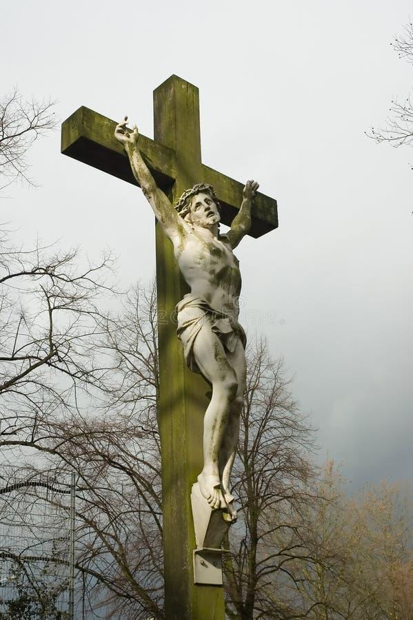 Estátua de Jesus fotografia de stock