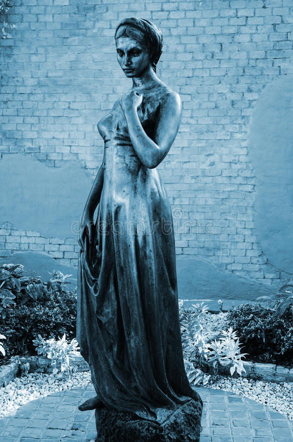 Estátua de Juliet imagens de stock royalty free