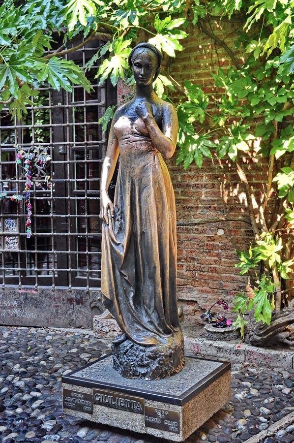 Estátua de Juliet foto de stock royalty free