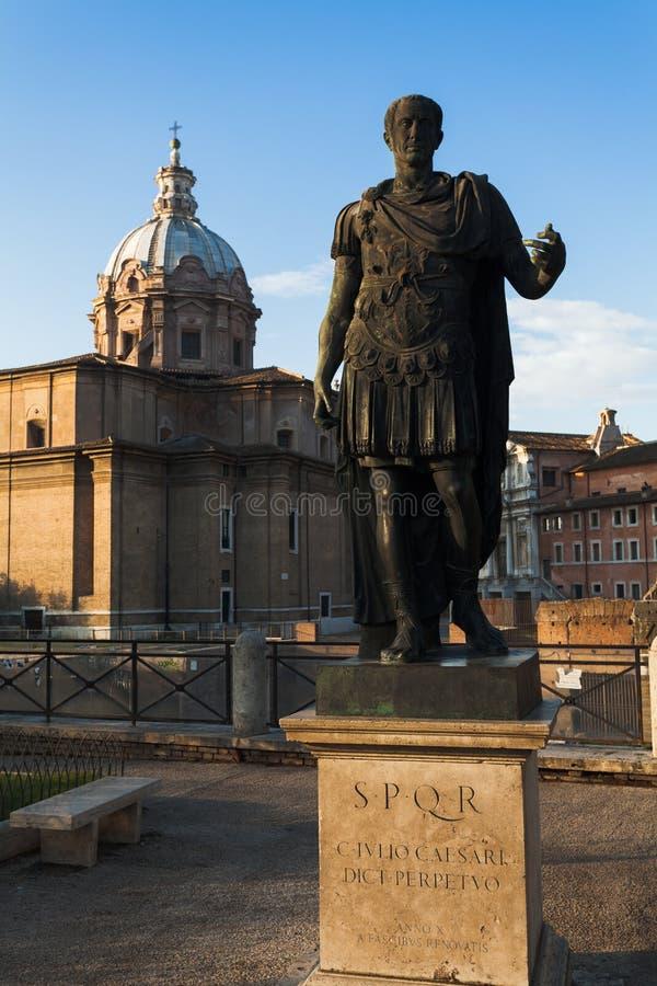 Estátua de Julius Caesar foto de stock royalty free