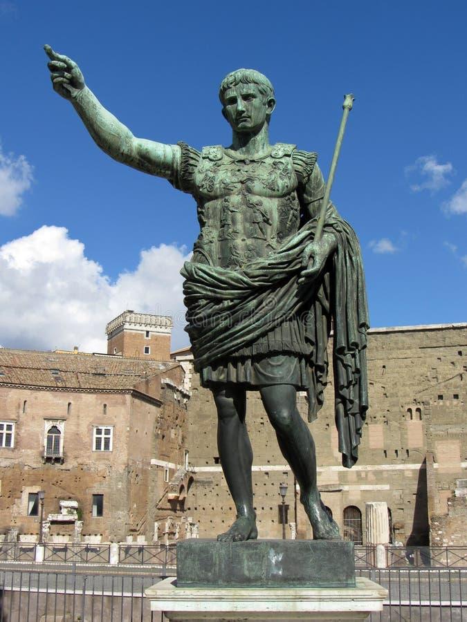 Estátua de Julius Caesar imagens de stock