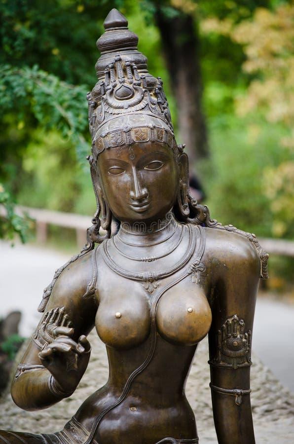 Estátua de Kali da deusa fotos de stock royalty free