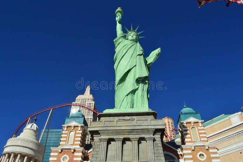 Estátua de Las Vegas de liberdade fotos de stock