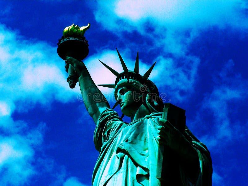 Estátua de liberdade 2 imagem de stock royalty free