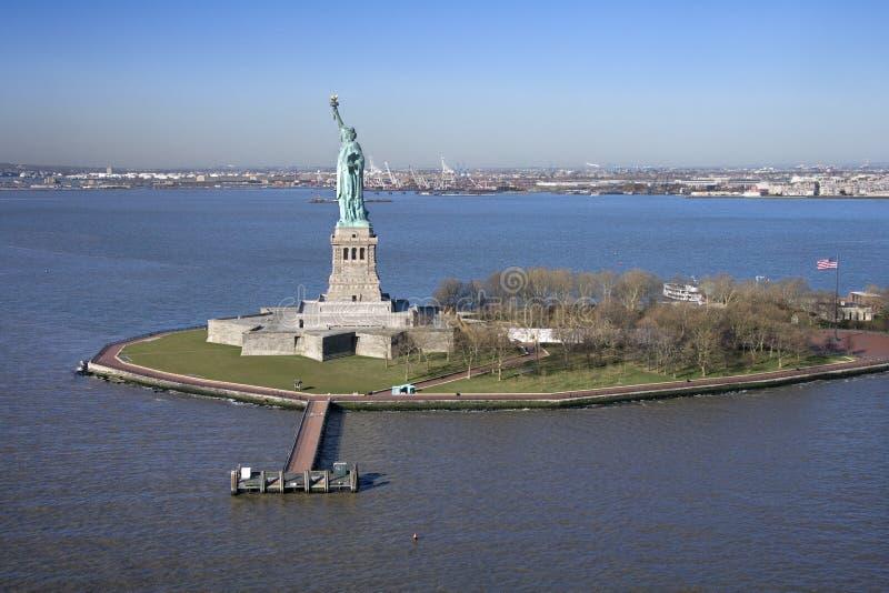 Estátua de liberdade. imagens de stock