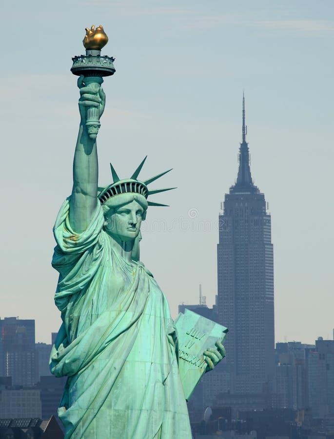 A estátua de liberdade fotografia de stock