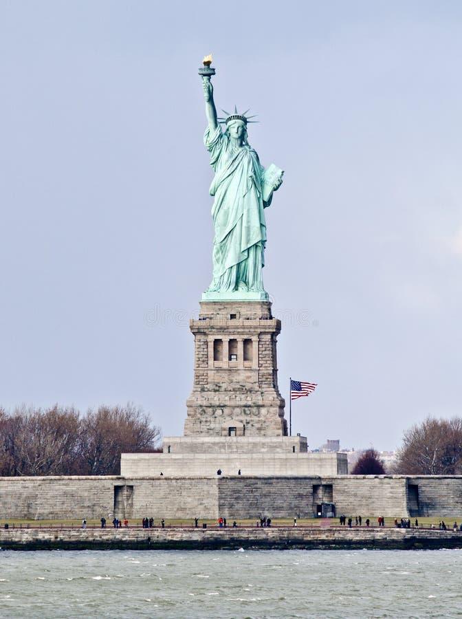Estátua de liberdade, console da liberdade, New York fotografia de stock