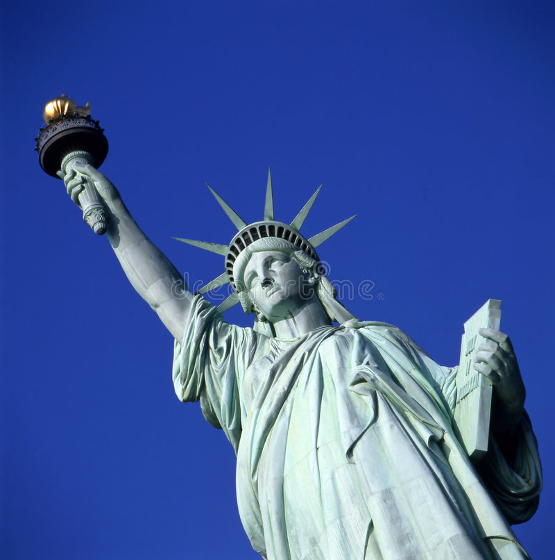 Estátua de liberdade em New York fotografia de stock royalty free