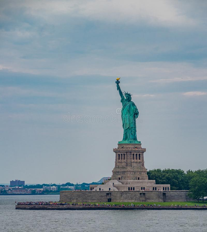 A estátua de liberdade em New York City foto de stock royalty free