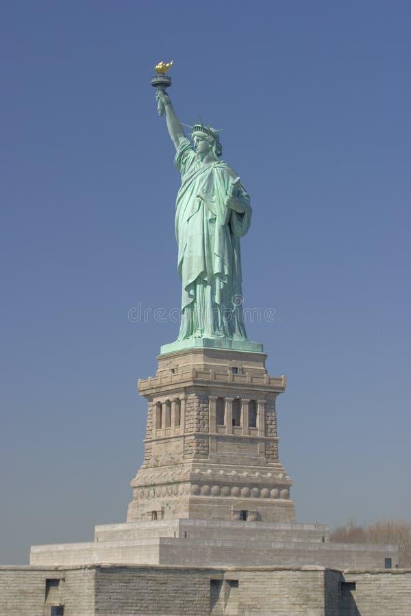 A estátua de liberdade - New York foto de stock