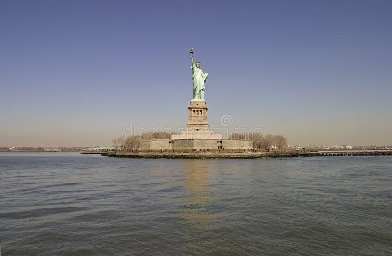 A estátua de liberdade - New York fotos de stock