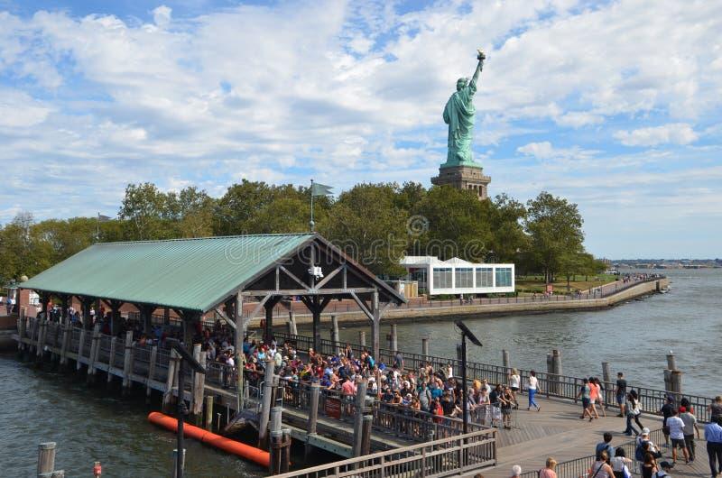 Estátua de liberdade, New York City fotos de stock royalty free