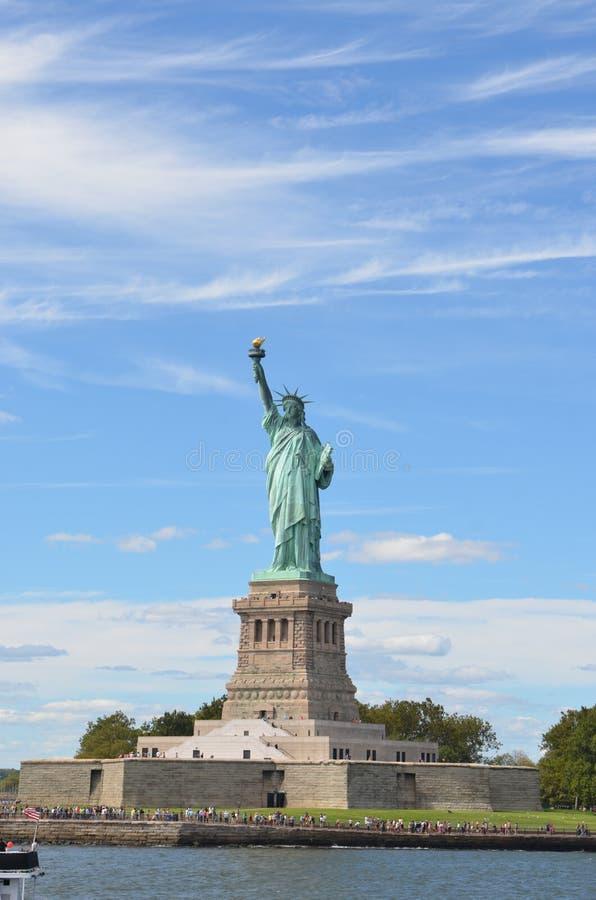 Estátua de liberdade, New York City foto de stock