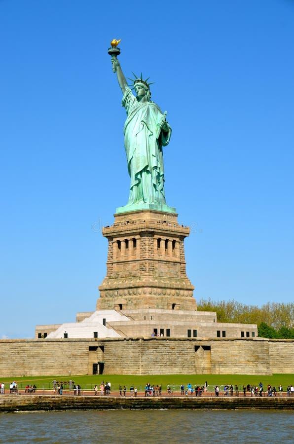 A estátua de liberdade, NYC fotografia de stock royalty free