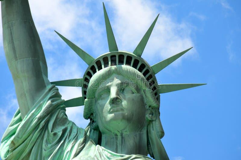 A estátua de liberdade, NYC fotografia de stock
