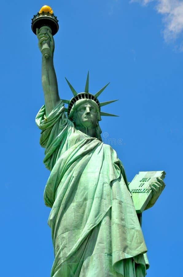 A estátua de liberdade, NYC foto de stock royalty free