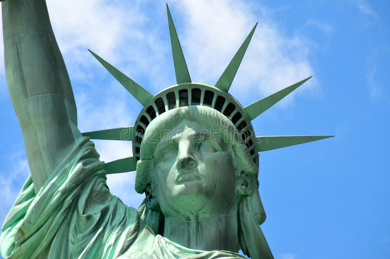 A estátua de liberdade, NYC imagem de stock