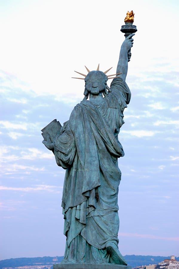 Estátua de liberdade, Paris foto de stock royalty free
