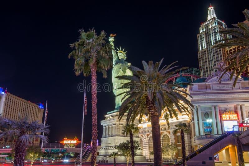 Estátua de Liberty Las Vegas imagem de stock