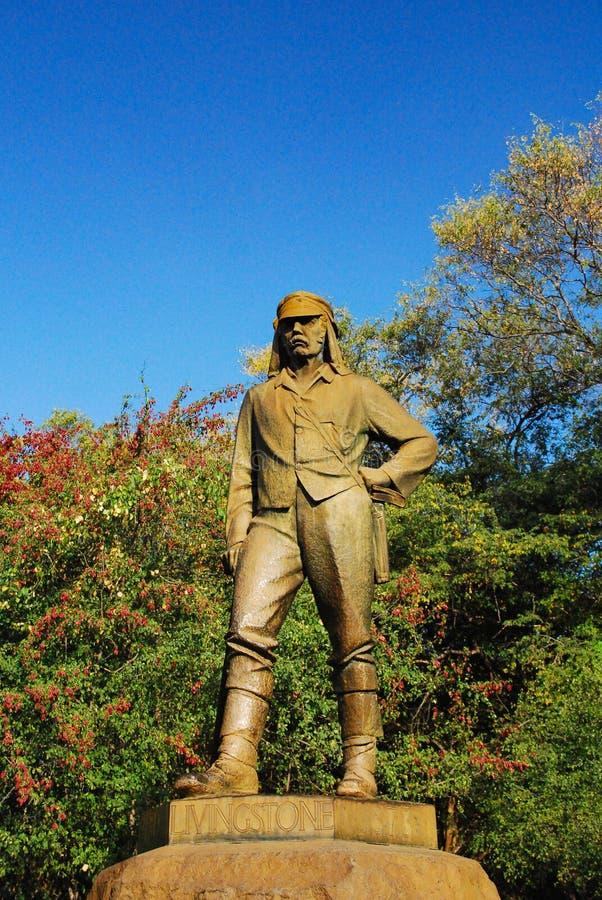 Estátua de Livingstone imagem de stock