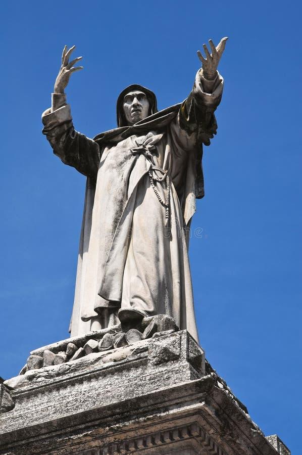 Estátua de mármore. foto de stock royalty free