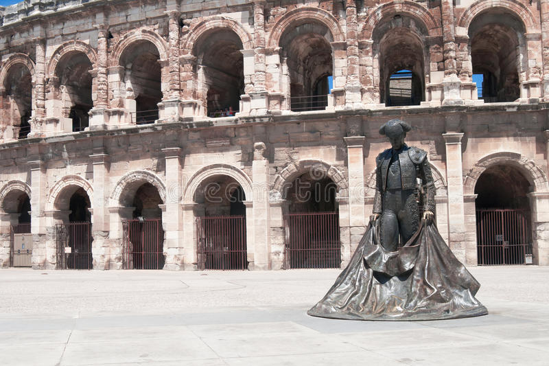 Estátua de Matador foto de stock royalty free