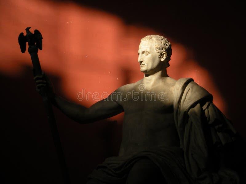 Estátua de Nerva, museus do Vaticano fotografia de stock