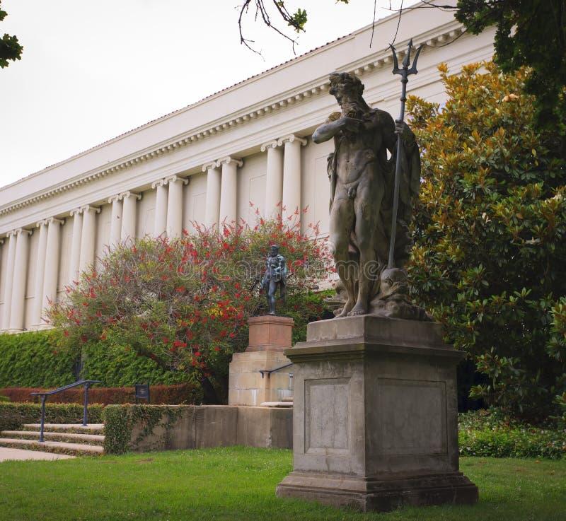 Estátua de Netuno imagem de stock