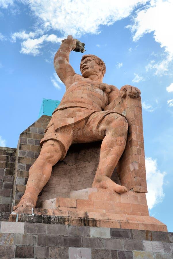 Estátua de Pipila imagem de stock royalty free