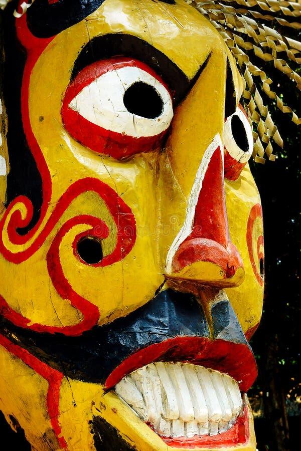 Estátua de Pulau Tiga fotografia de stock