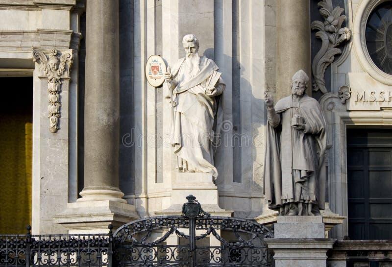Estátua de St. Peter imagem de stock royalty free