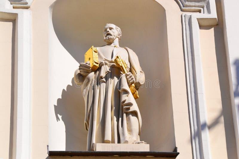 Estátua de St Peter foto de stock