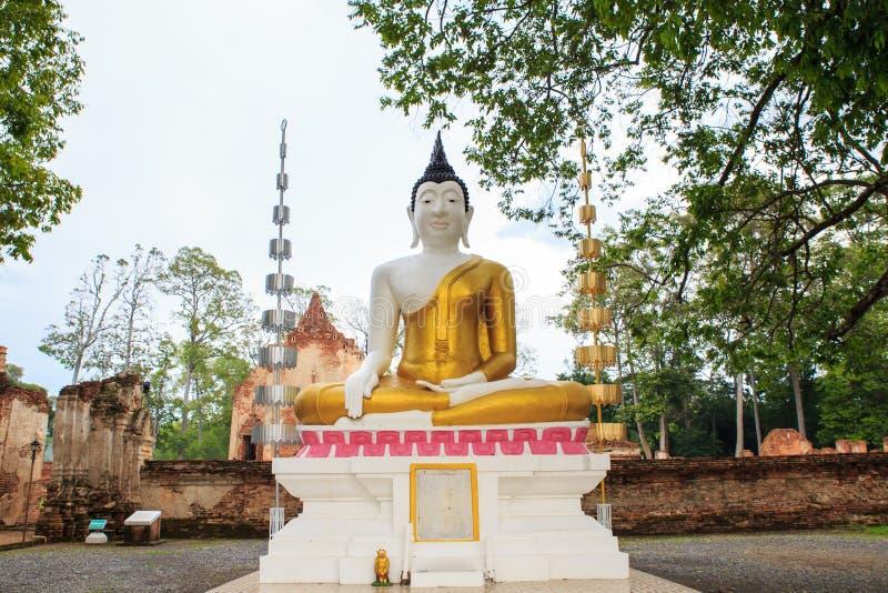 Estátua de Tailândia buddha imagem de stock