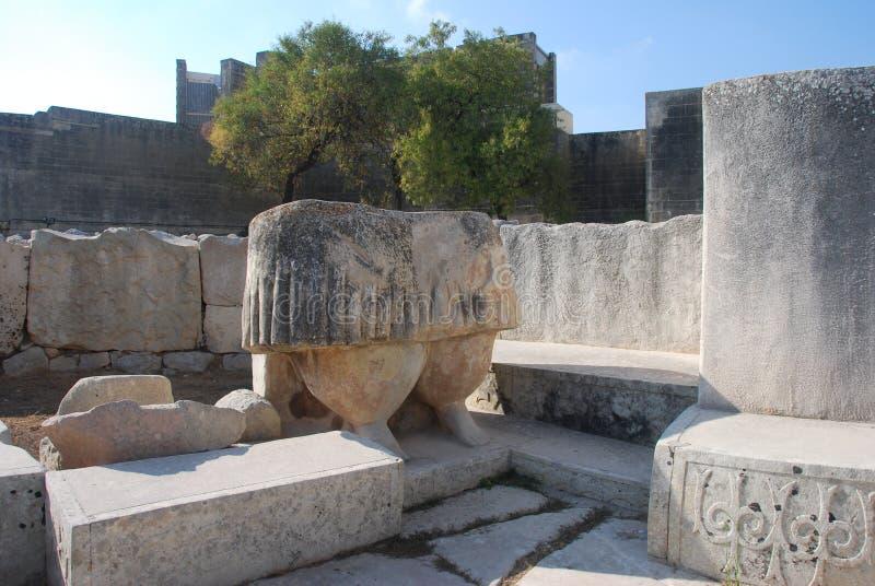 Estátua de Tarxien fotos de stock