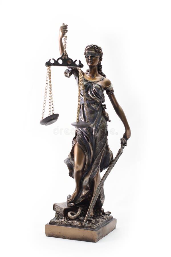 Estátua de Themis imagem de stock royalty free