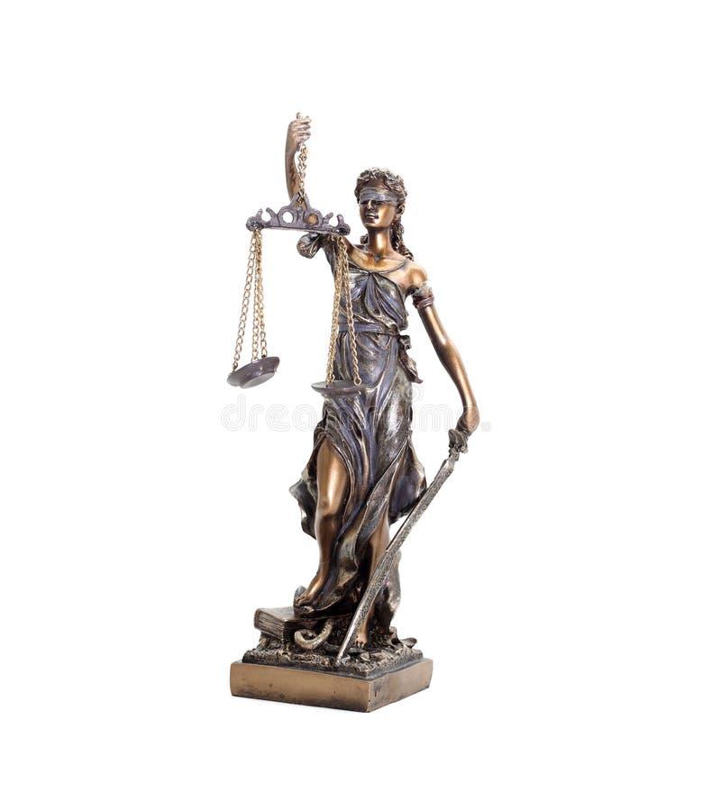 Estátua de Themis foto de stock royalty free