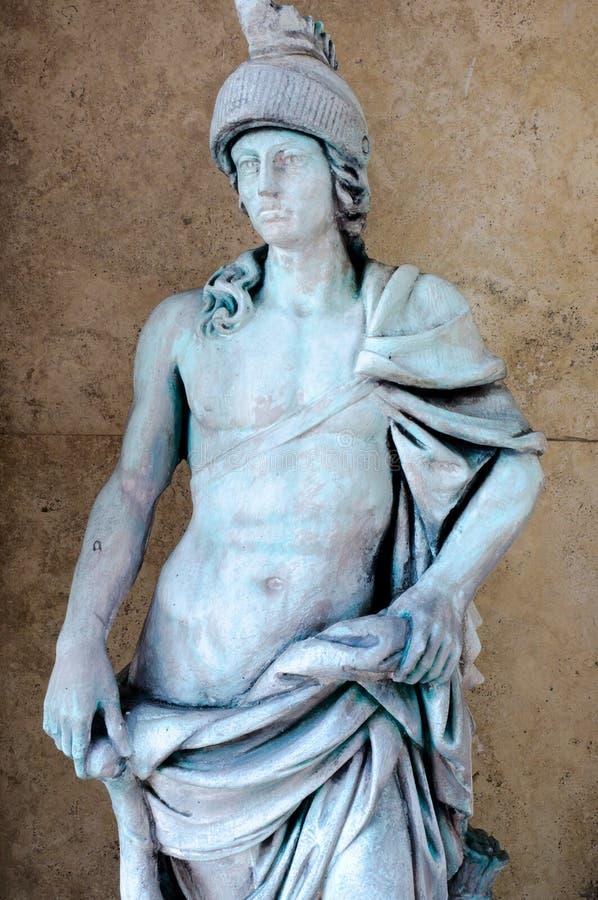 A estátua de um homem fotografia de stock