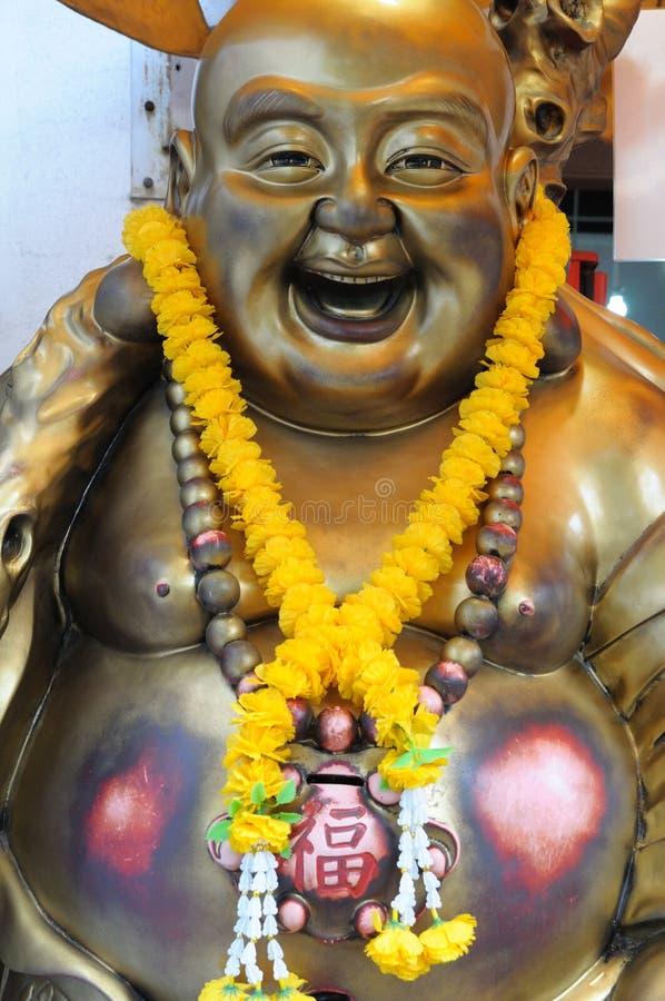 Estátua de uma Buda de riso foto de stock royalty free