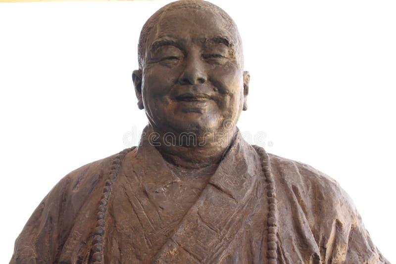 Estátua de uma monge imagem de stock royalty free