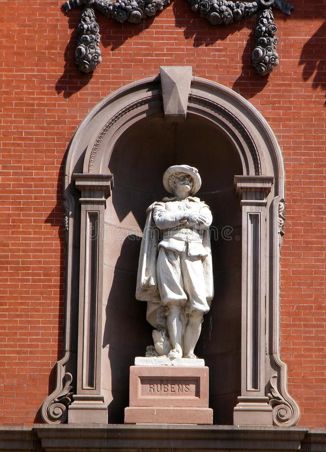 Estátua de Washington de Rubens 2010 imagem de stock
