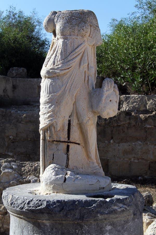 Estátua decapitado imagens de stock