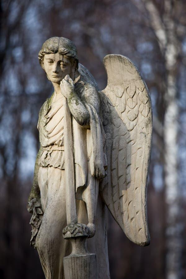 Estátua do anjo fotografia de stock royalty free
