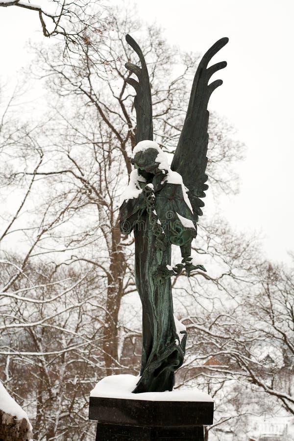 Estátua do anjo foto de stock