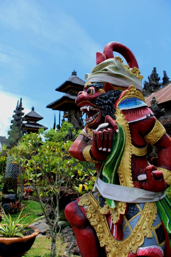 Estátua do batur de Puri alan fotos de stock royalty free
