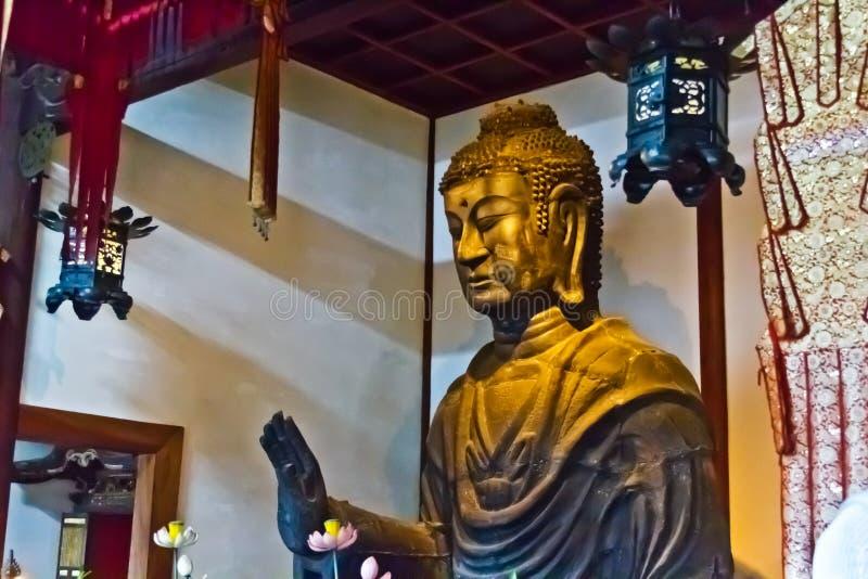 Estátua do Bodhisattva imagem de stock
